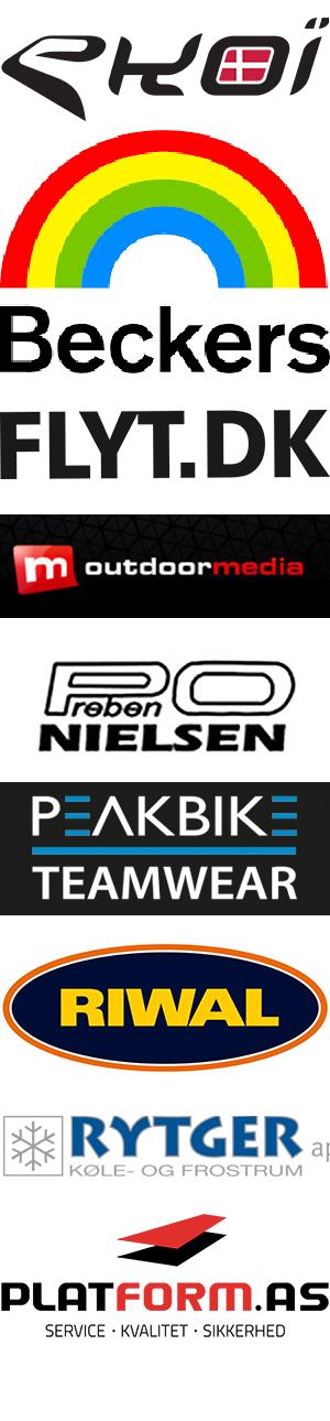 Derny sponsorer: